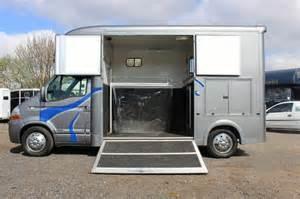 Renault Master 3 5 Ton Horsebox 3 5 Ton Renault Master Horsebox For Sale Central