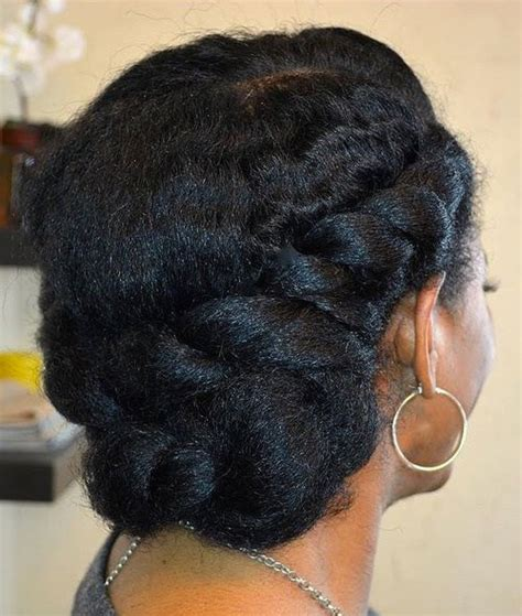 Twisted Updo Hairstyles by 20 Flat Twist Hairstyles For This Year