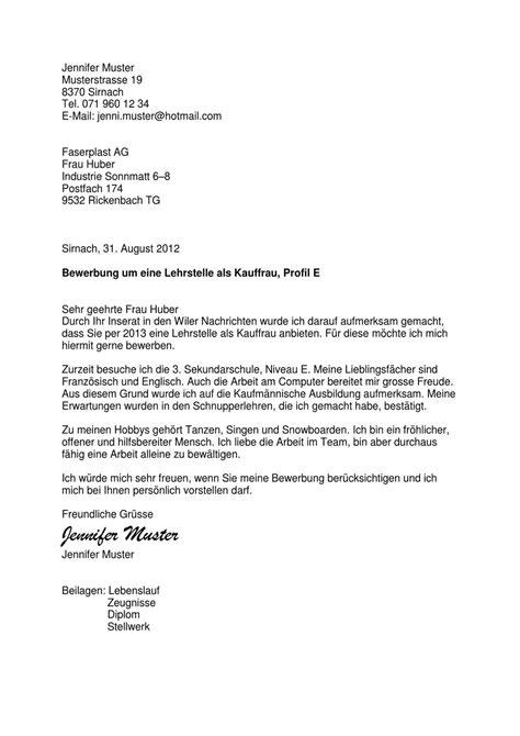 Musterbrief Auf Französisch Bewerbungsdossier By Andreas Gm 252 R Page 1 Issuu