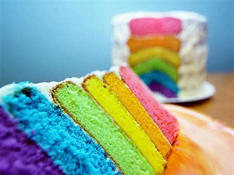 rainbow kuchen sweet and delish rainbow cake colors photo 34691726