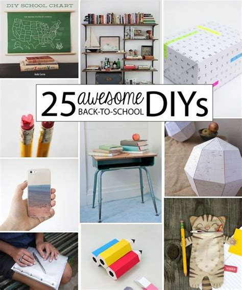 high school craft projects back to back to school and awesome on