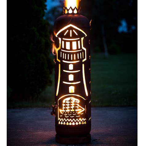 feuerschale flammen feuerstelle leuchtturm bitte t 252 rmotiv angeben