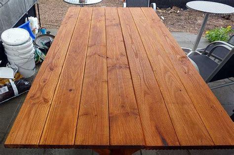 Tisch Aus Dielen by Gartentisch Im Eigenbau Chris Race S