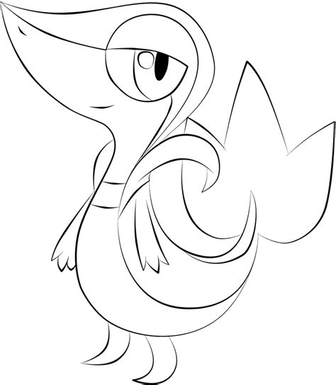 pokemon coloring pages of snivy pokemon snivy coloring images pokemon images