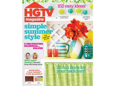 Hgtv Magazine Cover Giveaway - recreate hgtv magazine covers interior design styles and color schemes for home