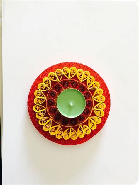 quilling diya tutorial 17 best quilled candle holders images on pinterest