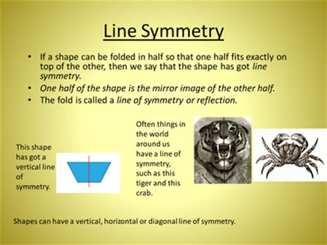 powerpoint tutorial ks2 differentiated symmetry activities resources tes