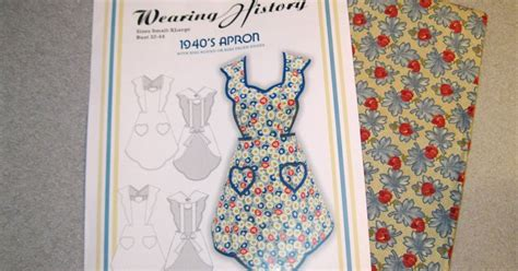 Wearing History Pattern Review | apron history pattern review wearing history apron