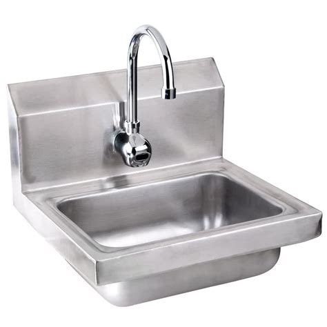 Faucet Sink Advance Tabco 7 Ps 61 Sink With Free Automatic