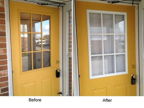 replace glass exterior door how to replace a glass frame in an exterior door