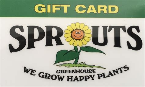 Sprouts Gift Card - sprouts gift card