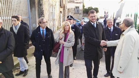 ufficio giudice di pace di roma aversa il sottosegretario migliore inaugura nuova sede