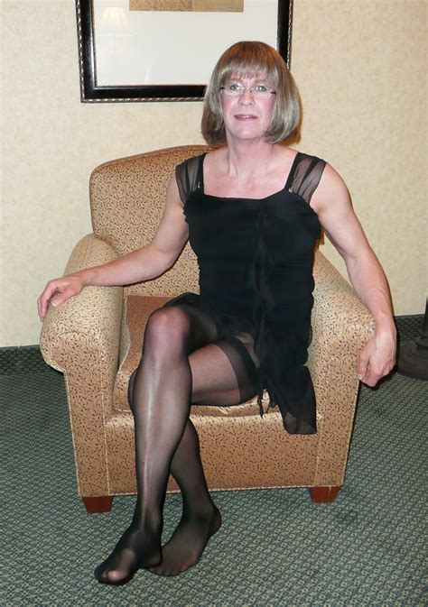 old crossdressers exploring some older crossdressing photos my first lbd