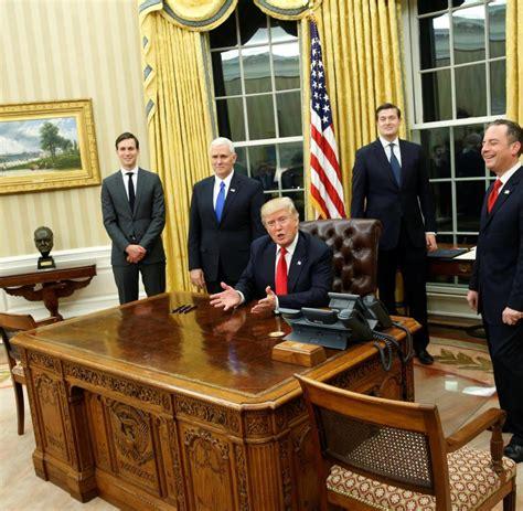 donald in oval office einrichtung im wei 223 en haus hat das oval office