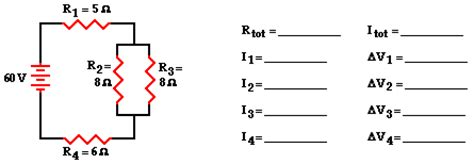 resistors in series and parallel questions and answers combination circuits