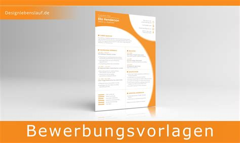 Word Design Vorlagen Lebenslauf Cv Exle With Covering Letter For Ms Word