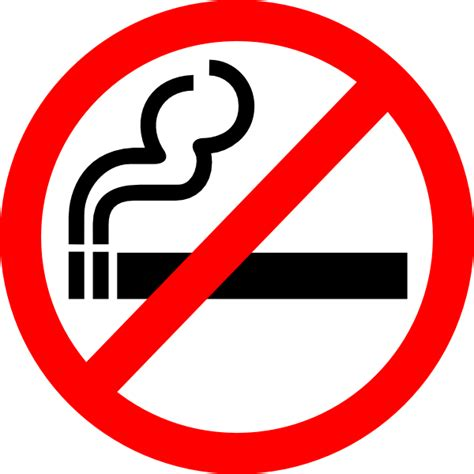 no smoking sign logo sign no smoking clip art at clker com vector clip art