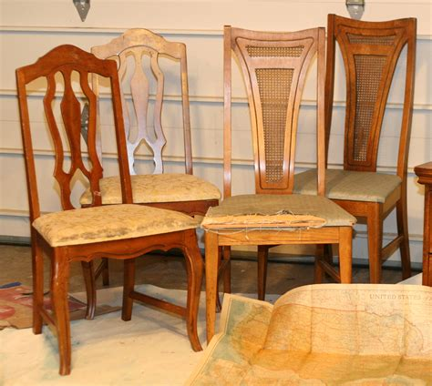 Reupholster Dining Room Chairs by How To Reupholster A Dining Room Chair Fortikur