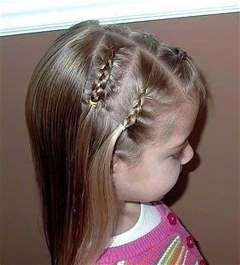 小女孩小辫子发型扎法 儿童扎辫发型(4)