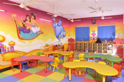 Interior Design Of Play School by School Wall Painting Indore Playschool Painting