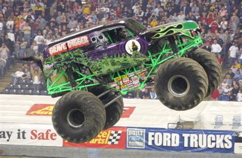 monster truck jam greensboro competition stays on track monster jam driver says fun