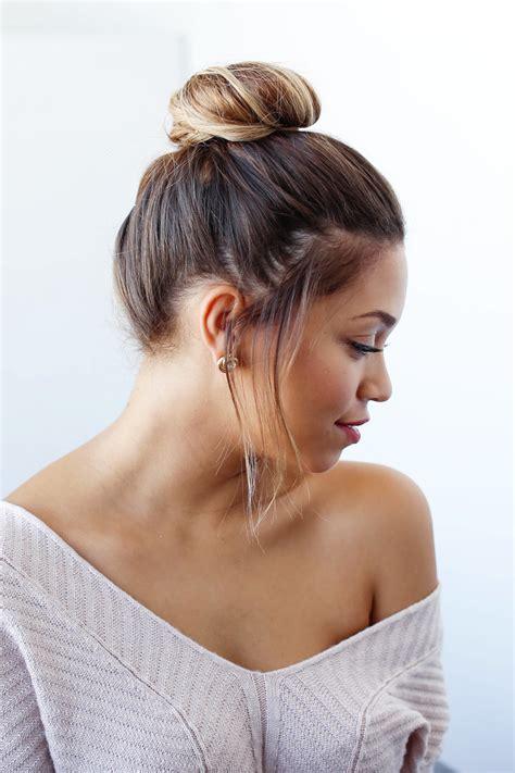 hair bun easy bun for shorter hair luxy hair