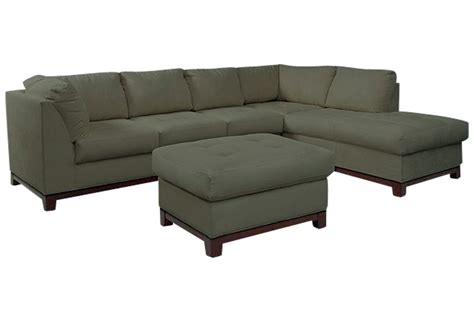 mandy microfiber sectional