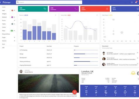 themeforest primer best premium responsive angular 2 themes 2016 free demo