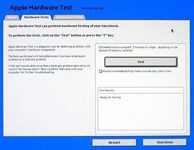hardware test using apple hardware test der flounder