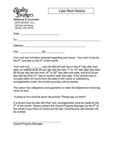 Rental Payment Reminder Letter Sle Tenant Eviction Mortgage Arrears 28 Images Eviction