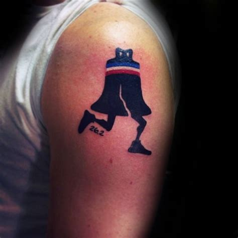 funny small tattoos small looking bell with legs on arm