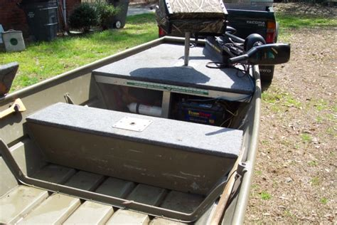 Folding Boat Bench Seat Jon Boat Decking Questions Georgia Outdoor News Forum
