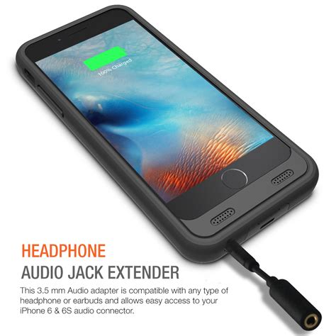 atomic  battery case  iphone    inche black black