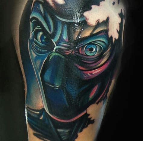 sub zero tattoo sub zero mortal kombat