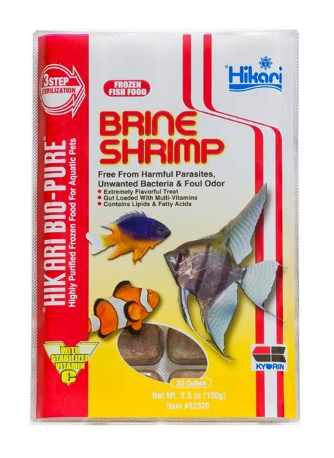 Hikari 100g hikari brine shrimp 100g pet food delivery melbourne