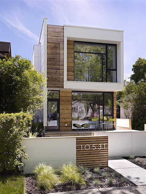 Skinny Houses Floor Plans by Planos De Casas De Dos Pisos Modernas Construye Hogar
