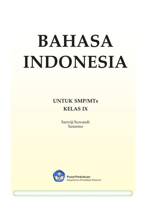 bahasa indonesia the layout smp9bhsind bahasa kebanggaanku