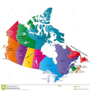 canada map stock photo image 6342730