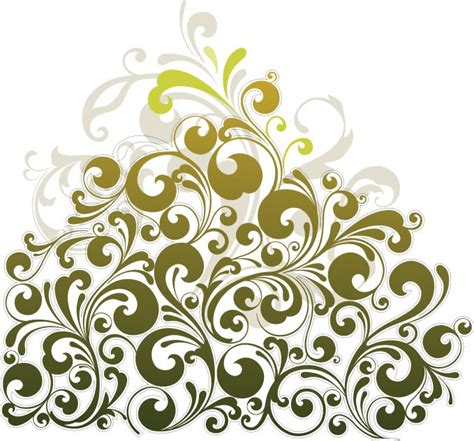 flower design element vector illustration free vector floral design element vector art free vector graphics