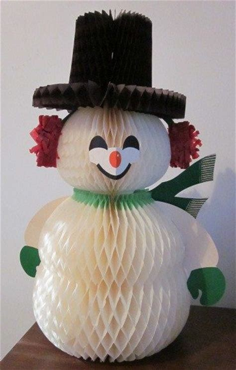 christmas decorations with tissue paper remember those tissue paper fold open decorations 60 s and 70 s table