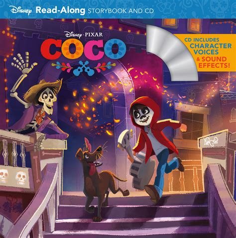 Desney Pixar Coco My Busy Books coco read along storybook and cd disney books disney