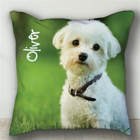 Personalized Pillow Pets by Custom Personalized Pet Pillow Personalized Or Cat Photo