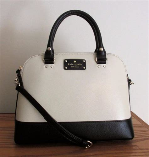 Tas Kate Spade Ks Rachelle 2 Tone Black White Original kate spade berkeley small rachelle bag black