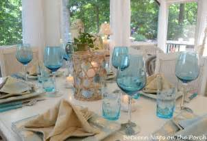 Wine Glasses Pottery Barn Beach Table Setting 4 Wm