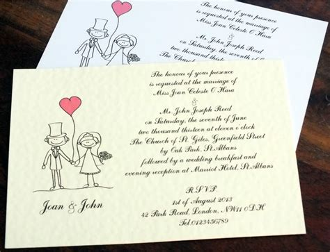 wedding invitations evening 50 personalised handmade wedding invitations day evening groom rsvp new ebay