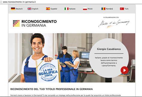 ufficio di collocamento offerte di lavoro germania terra di lavoro nasce un sito italiano per i