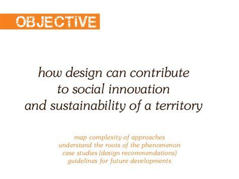 design center for social innovation design processes for social innovation critical analysis