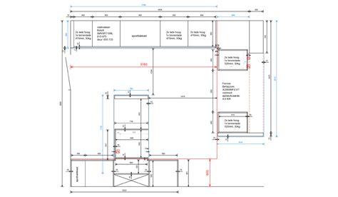 keuken tekening interieuradvies forest keukens oog voor design