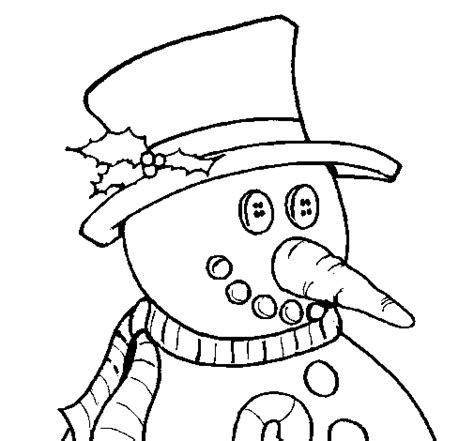 carrot nose coloring page snowman with carrot nose coloring page