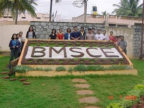 Bms Evening College Mba by B M S College Of Engineering Bms Bangalore Admission